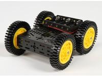 DG012-ATV四驱(ATV)多机箱套件有四个橡胶轮胎