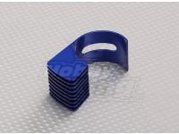 蓝色铝合金电机散热片540/550/560(36毫米)