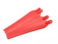 多转子折叠螺旋桨12x4.5红(CW / CCW)(4件)