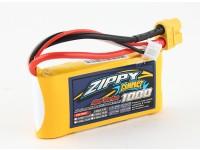ZIPPY紧凑型1000mAh的2S 40C前列包