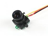 微型CMOS摄像机FPV 520TVL 120deg视域中0.008LUX 17x17x24mm中(PAL)