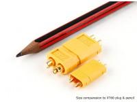 XT30电源连接器为30A连续应用(电池侧)(5片装)