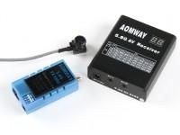 Aomway 5.8GHz的1000MW TX1000,RX04接收器和600TV线CMOS摄像头5V集(PAL)W / O DVR