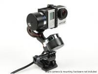 Z-1车手多功能3轴万向节稳定的GoPro的