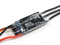 AEROSTAR 50A电子调速器与5A BEC(2〜6S)