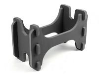 HobbyKing™轻质泡沫模型飞机支架(黑色)