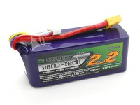 Turnigy纳米技术的2200mAh 6S 45〜90℃LiPoly电池