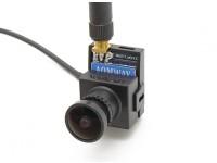 AOMWAY 700TVL CMOS高清摄像头(PAL制式),加上5.8G 200MW变送器