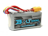 Turnigy博尔特为1000mAh 15.2V 4S店65〜130℃的高压Lipoly包(LiHV)
