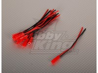 男JST电池尾纤12厘米长度(10片/袋)