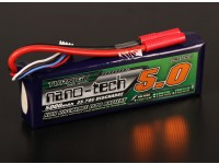 Turnigy纳米技术5000mAh的3S 35〜70℃的脂微球包