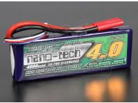 Turnigy纳米技术4000mAh的3S 35〜70℃的脂微球包