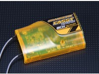 OrangeRx双叶FASST兼容为8Ch的2.4GHz接收器的S-Spec