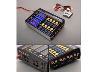 HobbyKing™Quattro的4x6S锂聚合物多功能充电器