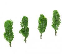 HobbyKing™ 80mm Scenic Wire Model Trees (4 pcs)