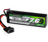 Turnigy nano-tech 7600mAh 2S 30C LiPo Battery w/Flat Connector