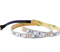 RGB LED Flexible Strip with 4-pin Driver Connector 500mm (Red/Green/Blue)