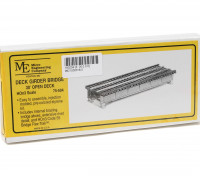 Micro Engineering HOn3 Scale 30ft Open Deck Girder Bridge Kit (75-504)