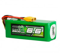 Multistar High Capacity 6600mAh 6S 12C Multi-Rotor Lipo Pack w/XT90