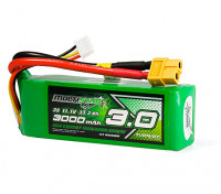 MultiStar High Capacity 3000mAh 3S 12C Multi-Rotor Lipo Pack w/XT60