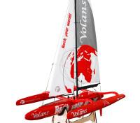 Thunder Tiger Volans 1m Trimaran Racing Yacht Kit 1
