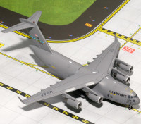 Gemini Jets MACS United States Air Force (USAF) Boeing C-17 Globemaster III (Dover AFB) 87-7174 1:400 Diecast Model GMUSA067