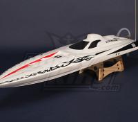 无刷鱼鹰V-赫尔R / C船(1075毫米)船体W /电机五金