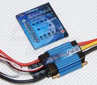Turnigy水之星120A水冷ESC W /编程卡