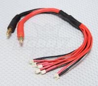 微JST并联充电铅(6插头)