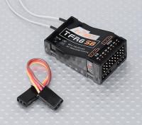 睿思凯TFR8 SB 8CH的2.4GHz接收器S.BUS兼容FASST
