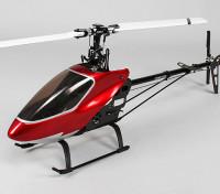 HK-500TT无副翼3D扭矩管电动直升机套件(W /片)