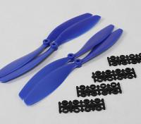 Hobbyking Slowfly螺旋桨10x4.5蓝(CW / CCW)(4件)