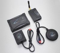 ZeroUAV YS-X6-P 10航点自动驾驶仪GPS飞行控制系统