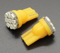 LED玉米灯12V 1.35W(9 LED) - 黄(2个)