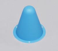 塑料锥赛车的R / C车跑道或漂移场 - 蓝(10片/袋)