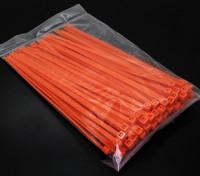 电气邮编/电缆扎带4xL150mm  -  100 /袋(橙色)
