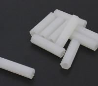 5.6毫米点¯x22毫米M3尼龙垫片螺纹(10PC)