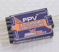 HobbyKing 3通道FPV视频切换器