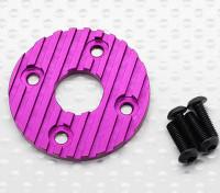 铝合金CNC电机散热板上36毫米(紫色)