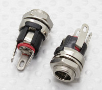 2.1毫米 - 5.5毫米DC机箱插座插孔(2PC)