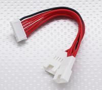 6S电池组均衡充电适配器导线