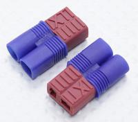 EC3到T型连接器电池适配器铅(2PC)