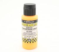瓦列霍高级彩色亚克力漆 - 金黄色的Fluo(60ml)中