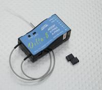 睿思凯达8 2.4Ghz的8CH多品牌接收器D8 / V8双叶S-FHSS / FHSS海泰克AFHSS兼容