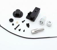 RotorBits伺服安装集合W /齿轮(黑色)