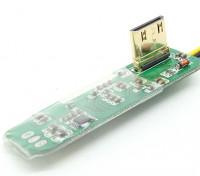 FPV Mini HDMI的转AV转换板
