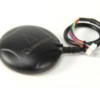 指南针和基座Quanum LEA-6H GPS与案例展台