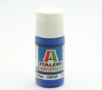 Italeri丙烯酸涂料 - 平板中蓝