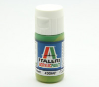 Italeri丙烯酸涂料 - 平浅绿色