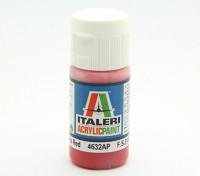 Italeri丙烯酸涂料 - 平卫红